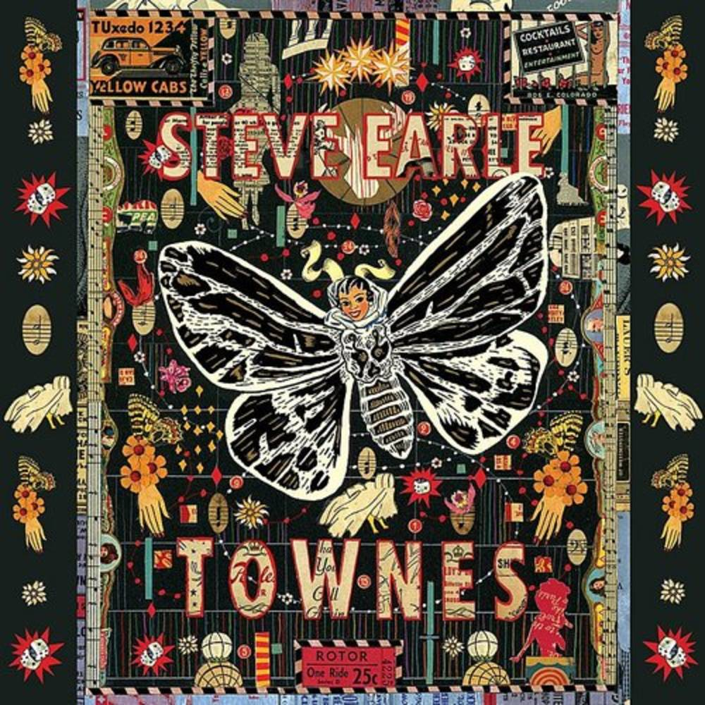 Steve Earle - Townes [Limited Edition Clear 2LP]