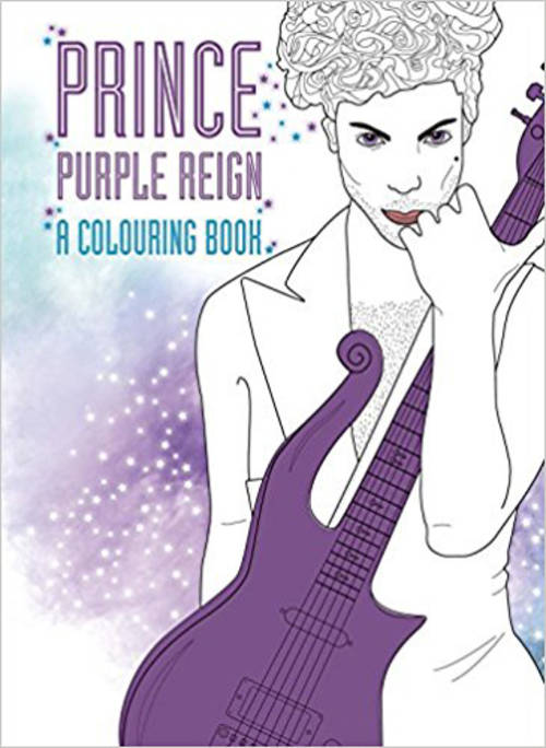 Prince Purple Reign: A Coloring Book