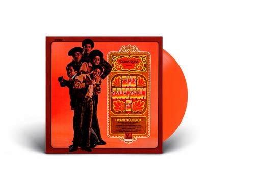 Jackson 5 - Diana Ross Presents... [RSD Essential Indie Colorway Orange LP]