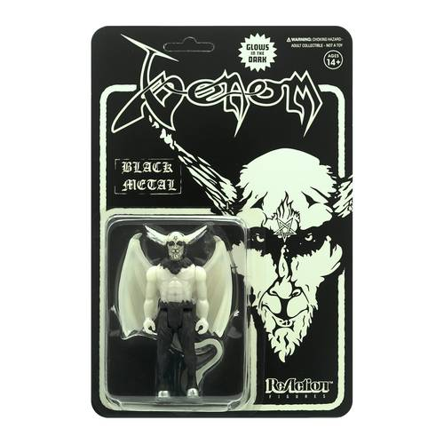 Venom - Venom ReAction Figure - Black Metal (Glow In The Dark)
