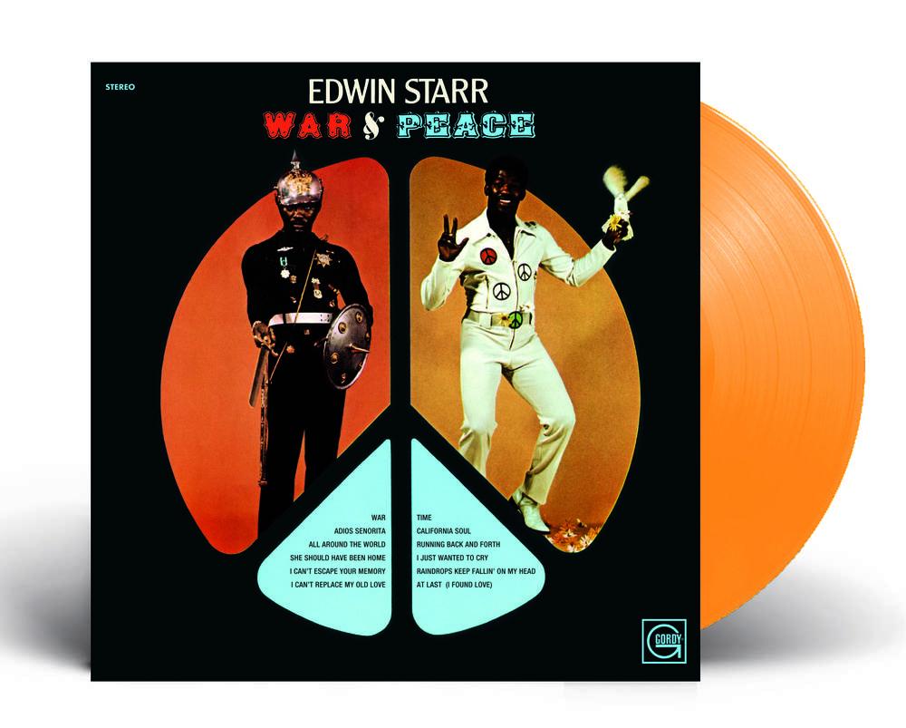Edwin Starr - War & Peace [RSD Essential Indie Colorway Orange LP]