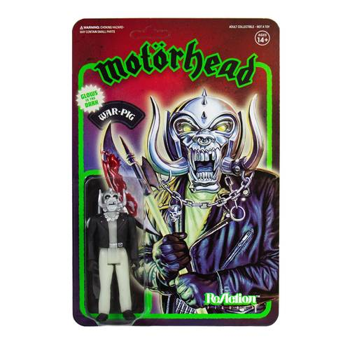 Motorhead - Motorhead ReAction Figure - Warpig (Glow in the Dark)