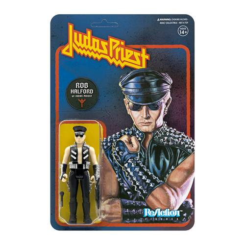 Judas Priest - Judas Priest ReAction Figure - Rob Halford