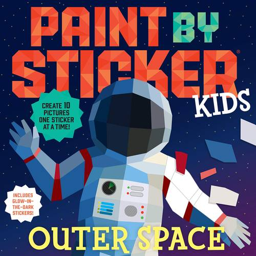 Book - Pant By Sticker-Outer Space