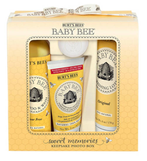 Burt's Bees Baby Bee Gift Package w/Keepsake Photo Box