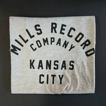Mills Text T [Small] [Grey]