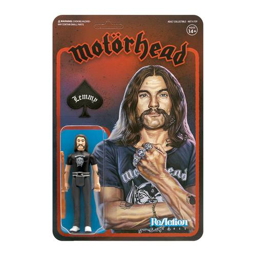 Lemmy - LEMMY  MOTORHEAD REACTION FIGURE