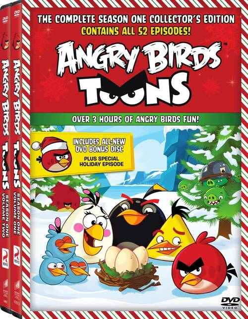 Angry Birds Toons: Season One - Volume One & Two Set