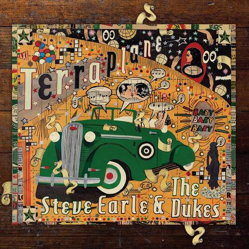 Steve Earle - Terraplane [Limited Edition Transparent Gold LP]