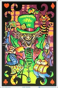 Blacklight - MAD HATTER BLACKLIGHT POSTER