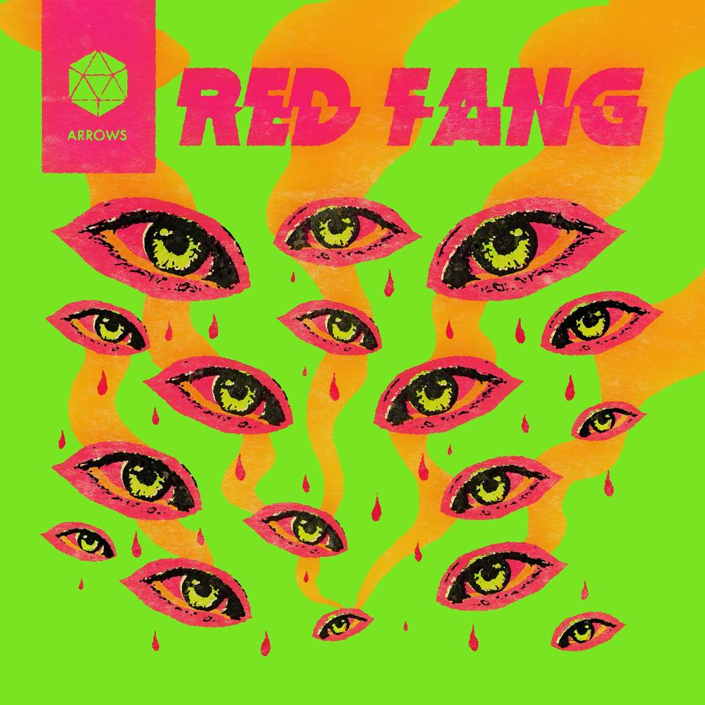 Red Fang - Arrows [Indie Exclusive limited Edition Yellow with Heavy Neon Magenta Splatter LP]