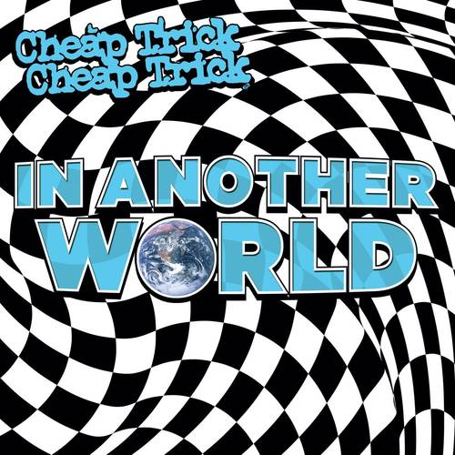 Cheap Trick - In Another World [Indie Exclusive Limited Edition Blue & White Splatter LP]