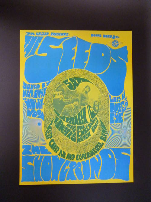 Poster (Reprint) - Thee Midnighters, Seeds, Chocolate Watch Band