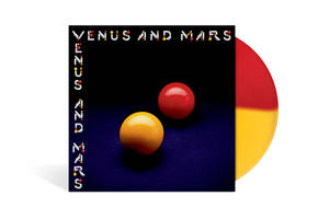 Venus And Mars [Indie Exclusive Limited Edition Red/Yellow LP]