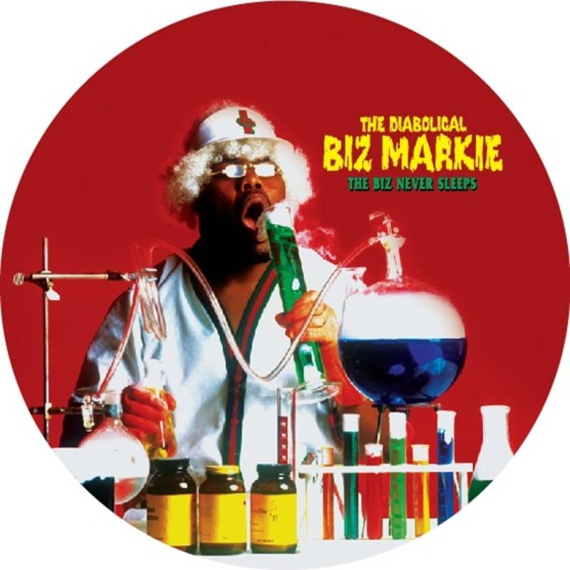 Biz Markie The Biz Never Sleeps Picture Disc