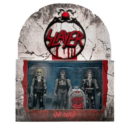 Slayer - SLAYER LIVE UNDEAD REACTION FIGURES