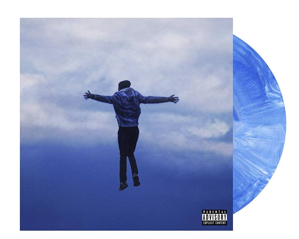 Harry Hudson - Hey, I'm Here For You [Blue & White Marble 2 LP]