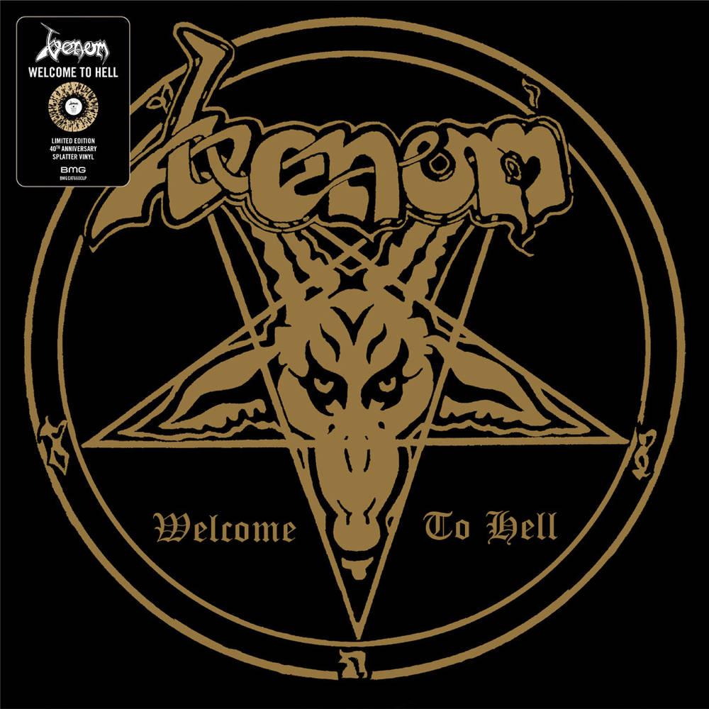 Venom - Welcome To Hell [Splatter LP]