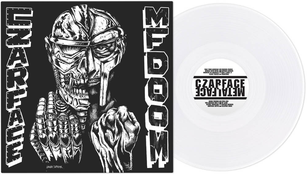Czarface - Czarface Meets Metal Face [RSD Essential Indie Colorway White LP]