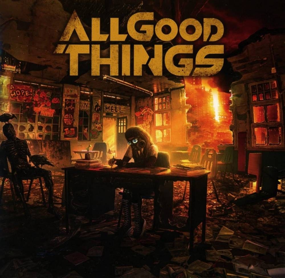 All Good Things - A Hope In Hell [Translucent Orange & Black LP]
