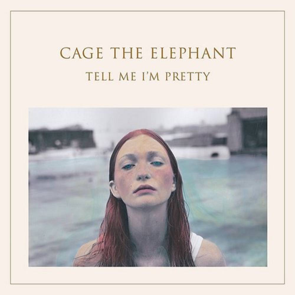 Cage The Elephant - Tell Me I'm Pretty [RSD Essential Custom Clear with White & Blue Smoky Swirls LP]