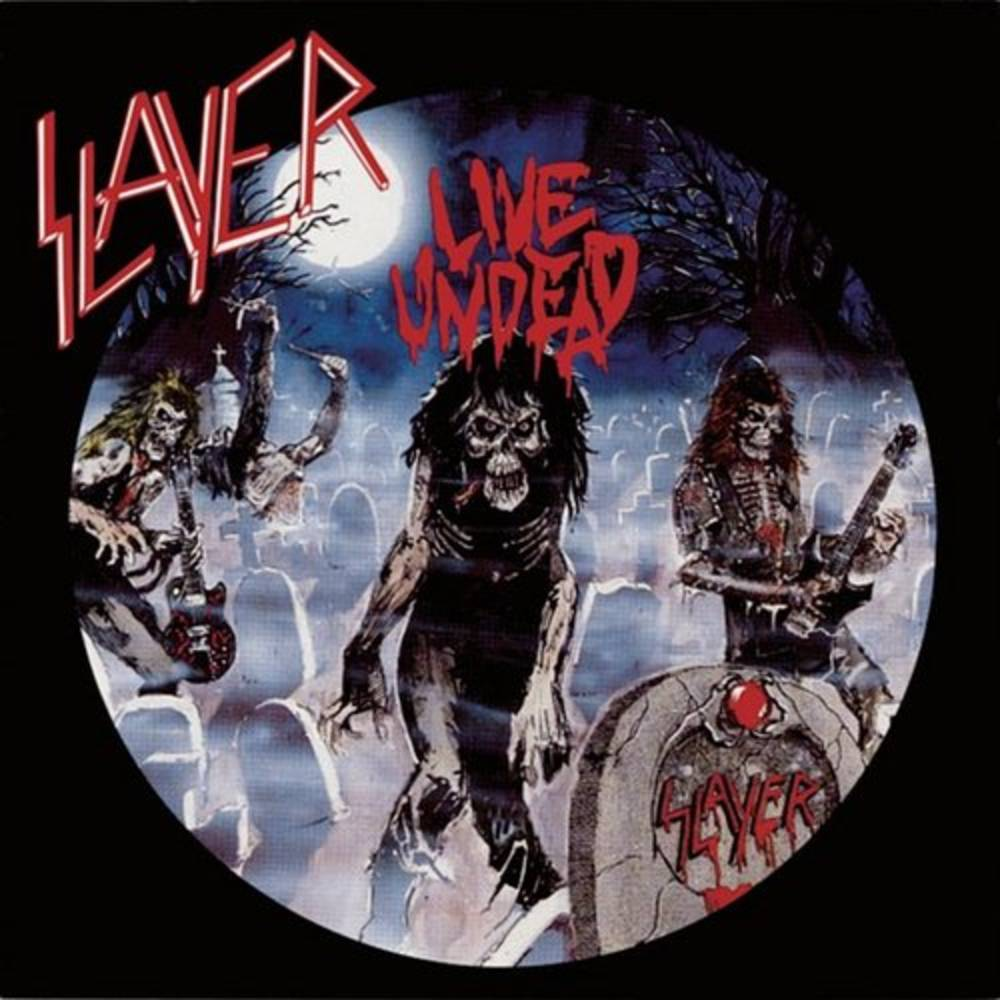 Slayer - Live Undead [Limited Edition Grey & Black Marble LP]