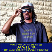 Dam Funk at the Doug Fir Lounge, 9/8