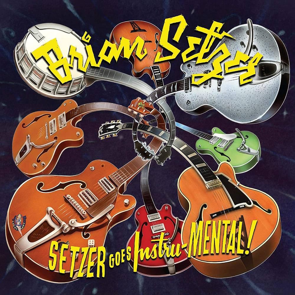 Brian Setzer - Setzer goes Instru-MENTAL! [Yellow Splatter LP]