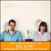 Big Scary at the Doug Fir Lounge, 9/9