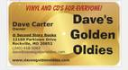 Dave's Golden Oldies