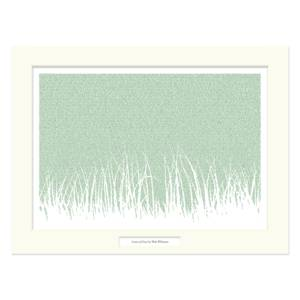 LEAVES OF GRASS 12X16