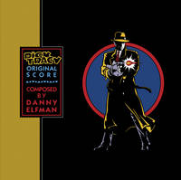 Danny Elfman - Dick Tracy (Original Score) [SYEOR 2021 Transparent Blue LP]
