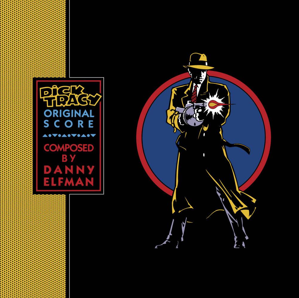 Danny Elfman - Dick Tracy (Original Score) [SYEOR 2021 Transparent Blue LP]