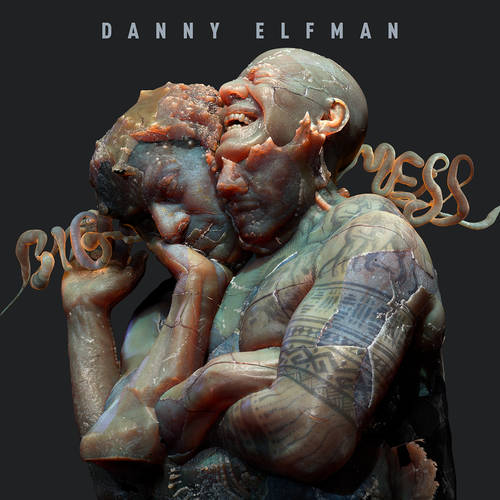 Danny Elfman - Big Mess [Black + White Explosion / Opaque Sky Blue 2LP]