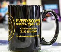 Everybodys Records - Everybodys Records Black Logo Mug