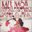 Kate Nash Surprise Performance This Saturday At Music Millennium!