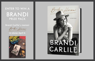 ENTER TO WIN A BRANDI PRIZE PACK