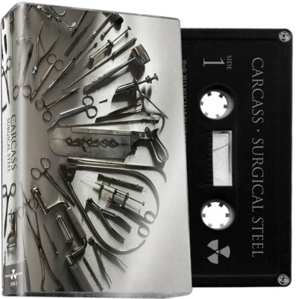 Carcass - Surgical Steel [Limiteds Edition Black Cassette]