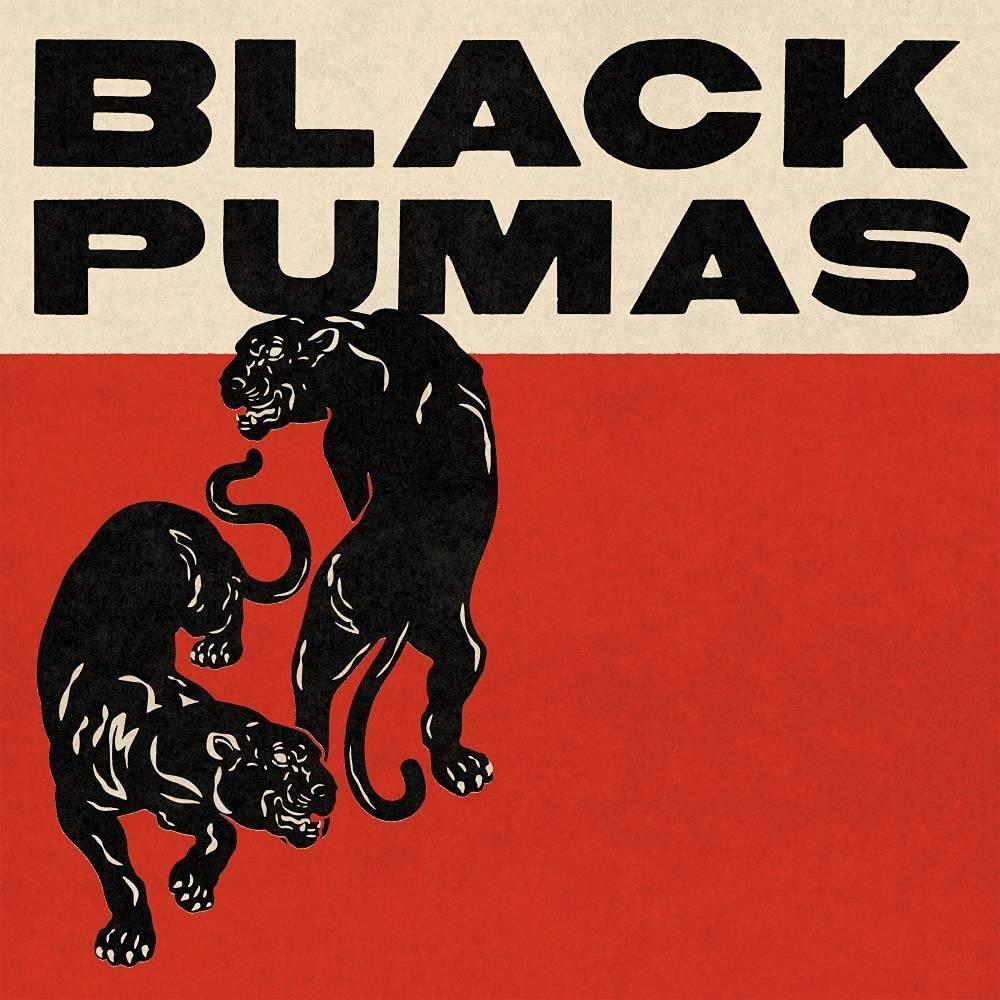 Black Pumas - Black Pumas [Deluxe Gold & Red/Black Marble 2 LP]