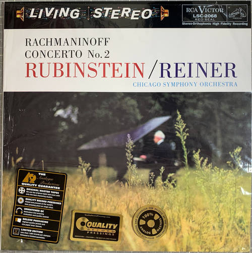 Rachmaninoff - Concerto No. 2 - Rubinstein - Reiner - Chicago Symphony Orchestra