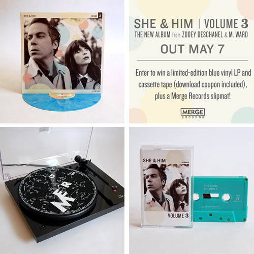 She & Him Prize Pack