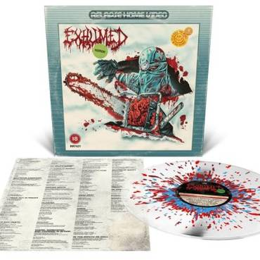 Horror [Indie Exclusive Limited Edition Milky Clear w/ Heavy Blood Red, Oxblood & Aqua Blue Splatter LP]