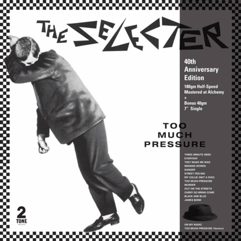 The Selecter - Too Much Pressure: 40th Anniversary Edition [Indie Exclusive Limited Edition Clear LP + Bonus 7in]