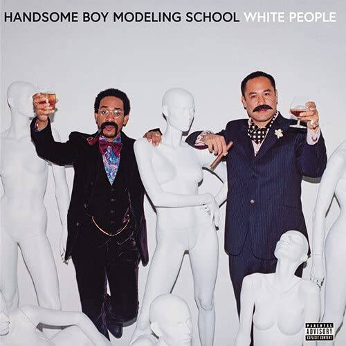 Handsome Boy Modeling School - White People [Opaque White LP]