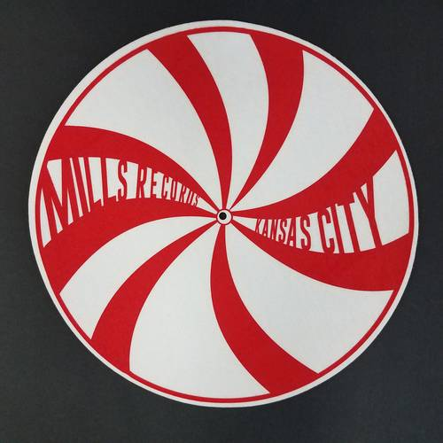 Slipmat [Red Swirl]