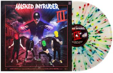 III [Indie Exclusive Limited Edition Clear with Blue/Red/Green/Yellow Splatter LP]