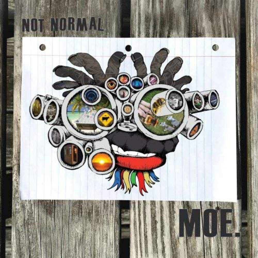 Moe. - Not Normal EP [Blue Galaxy Vinyl]