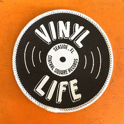Central Square Records - VINYL LIFE PATCH