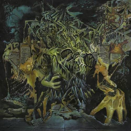 Murder Of The Universe [Transparent Green w/Mustard Yellow Splatter LP]