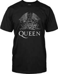 Queen - White Logo (M)